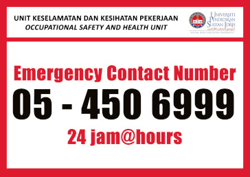 emergency contact number
